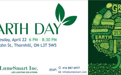 Lumesmart hosted an Earth Day Event
