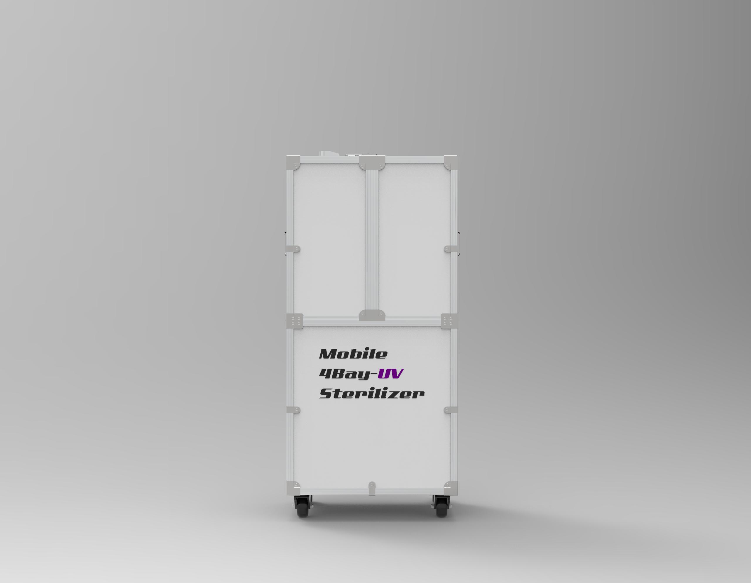 Mobile 4Bay-UV Sterilizer